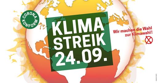 Globaler Klimastreik – Sei dabei!